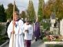 Graebersegnung auf den Friedhof in Weilheim