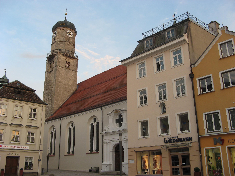 Stadtpfarrkirche Mariae Himmelfahrt, Weilheim